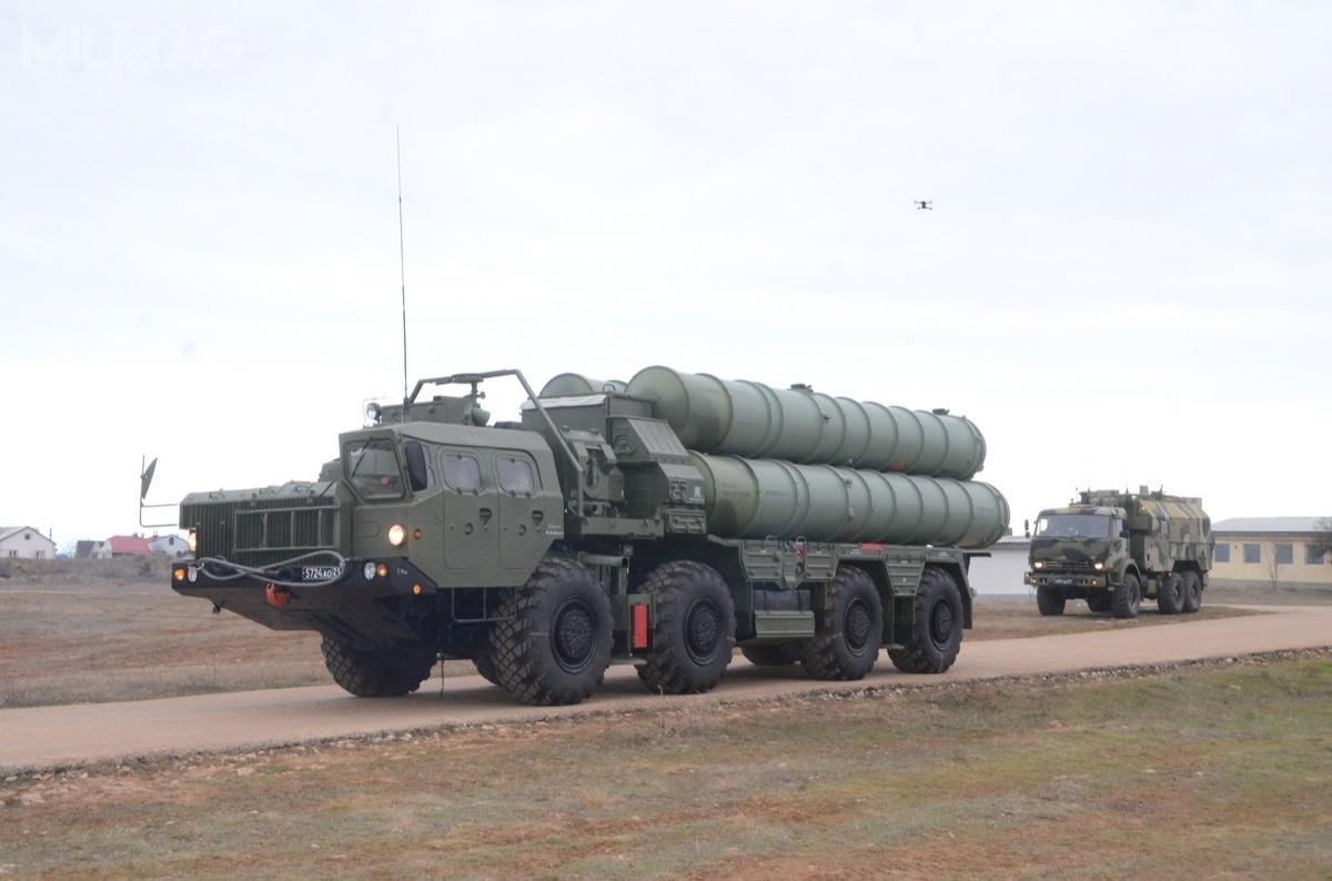 Aktualny status gotowości operacyjnej dwóch już dostarczonych dwóch tureckich baterii S-400 dobazy lotniczej Mürted pozostaje nieznany / Zdjęcie: Ministerstwo obrony Federacji Rosyjskiej