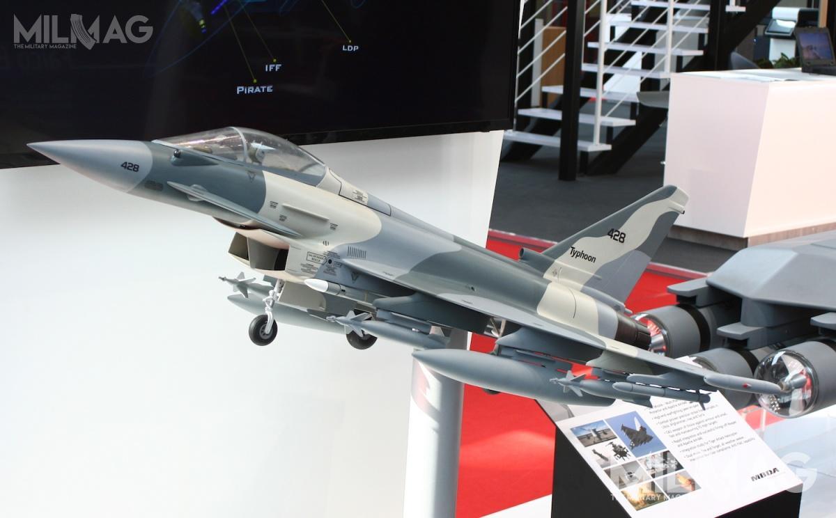 Eurofigher Typhoon wnajnowszej konfiguracji jest oferowany Siłom Powietrznym RP jako samolot wielozadaniowy wramach programu Harpia