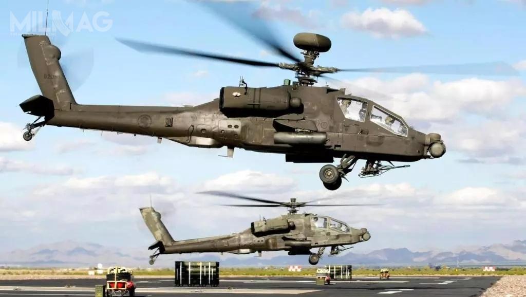 Modernizacja AH-64D dostandardu AH-64E Apache Guardian (Apache Block III), jeśli doniej dojdzie, będzie kolejnym unowocześnieniem śmigłowców należących dowojsk lotniczych Egiptu. Co ciekawe, wostatnich latach Egipt zamówił wRosji 46 uderzeniowych Ka-52 i32 pokładowych Ka-52K Katran oraznieokreśloną liczbę Mi-24 (co najmniej dwa) / Zdjęcie: El Qūwāt El Gawīyä El Maṣrīya
