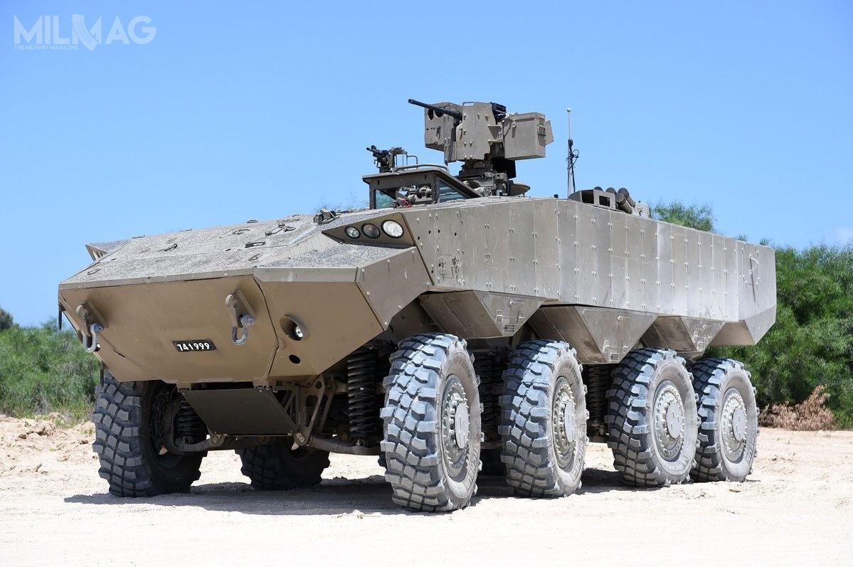 W 2020, KTO Eitan rozpocznie zastępowanie wlinii wysłużonych gąsienicowych transporterów M113 Zelda.