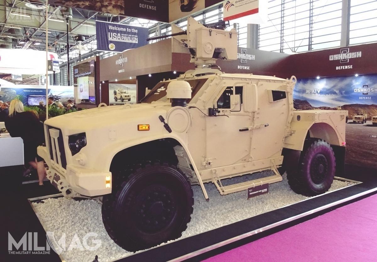 Pięć państw: USA, Litwa, Czarnogóra, Słowenia iWielka Brytania zadeklarowały zakup łącznie ponad 67 tys. egzemplarzy wielozadaniowych pojazdów opancerzonych JLTV / Zdjęcie: Remigiusz Wilk
