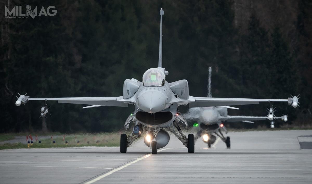 Poprzednie umowy naczęści zamienne iśrodki materiałowe dopolskich F-16 zawarto w2018: owartości 18 mln zł brutto nazabezpieczenie samolotów zŁasku oraz16,8 mln zł napotrzeby 31. Bazy Lotnictwa Taktycznego zPoznania-Krzesin. / Zdjęcie: 31. Baza Lotnictwa Taktycznego