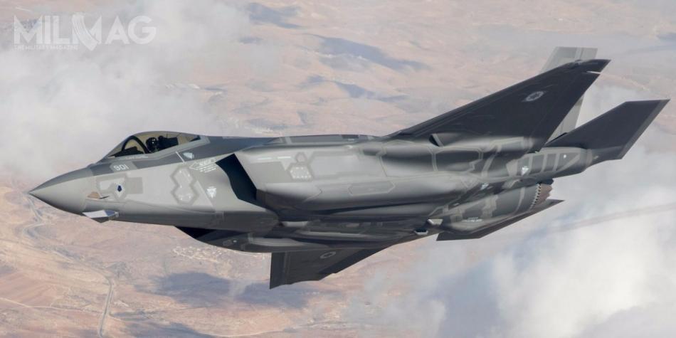 Pierwszych pięć F-35I Adir osiągnęło gotowość operacyjną 6grudnia 2017 / Zdjęcie: Chel ha-Awir