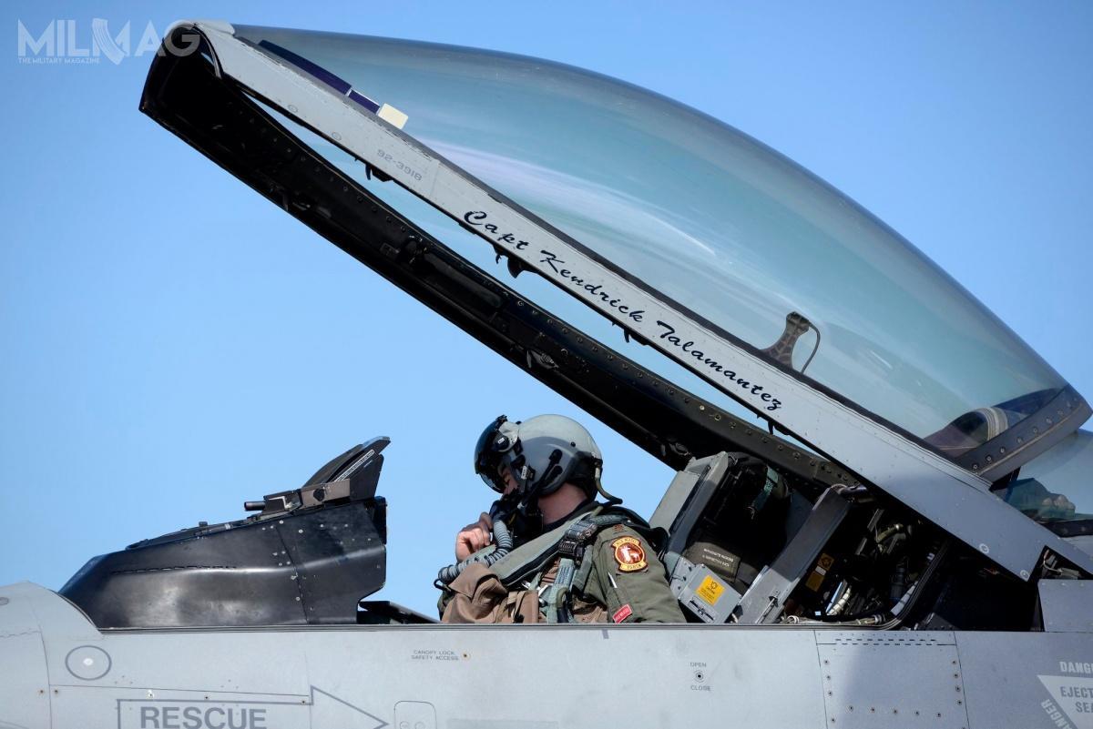 Głównym celem ćwiczeń zpolskimi F-16 jest przeciwdziałanie rosyjskiej agresji wEuropie wramach operacji Atlantic Resolve. / Zdjęcia: USAF