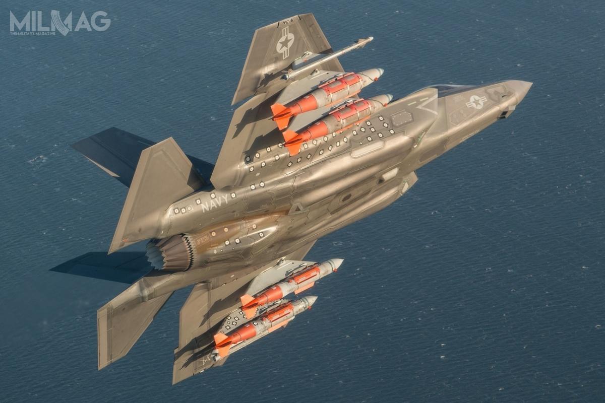 Ministerstwo Obrony Niemiec odrzuciło ostatecznie możliwość zakupu samolotów 5. generacji Lockheed Martin F-35 Lightning II wmiejsce myśliwsko-bombowych Panavia Tornado  / Zdjęcie: Lockheed Martin
