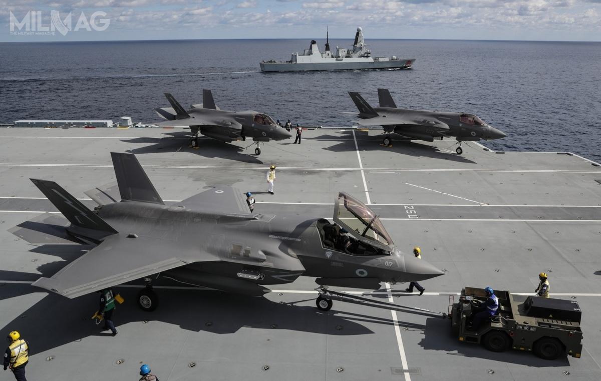 Royal Air Force iRoyal Navy odebrały jak dotąd 18 samolotów F-35B, aobecnie realizowane zamówienie obejmuje dostawę 30 kolejnych. Wielka Brytania zobowiązała się dozamówienia łącznie 138 F-35B Lightning II
