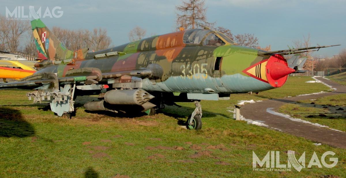Bomby  będą przenoszona przezsamoloty Su-22M4 iMiG-29A/G / Zdjęcia: Jakub Link-Lenczowski