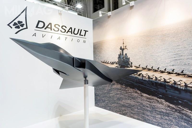Francuski koncern Dassault Aviation zaprezentował wtym roku makietę tunelową wielozadaniowego samolotu bojowego NGF (New Generation Fighter), opracowywanego wspólnie zAirbusem wramach programu FCAS dla wojsk lotniczych Francji iNiemiec. /Zdjęcie: Dassault Aviation