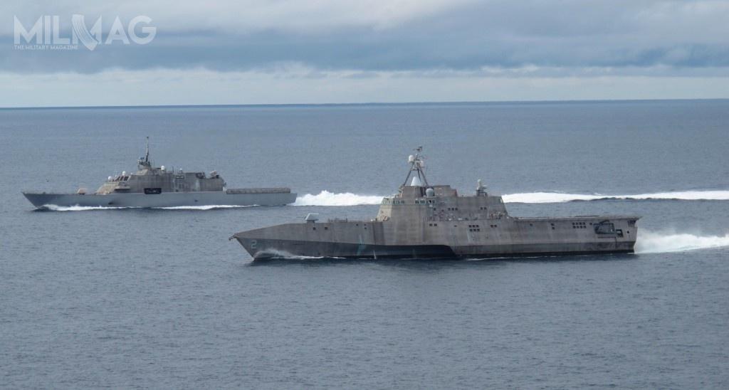 Fregaty rakietowe, które zostaną pozyskane wramach programu FFG(X) wypełnią lukę pomiędzy jednostkami LCS typu Independence iFreedom aniszczycielami rakietowymi typu Arleigh Burke. /Zdjęcie: US Navy