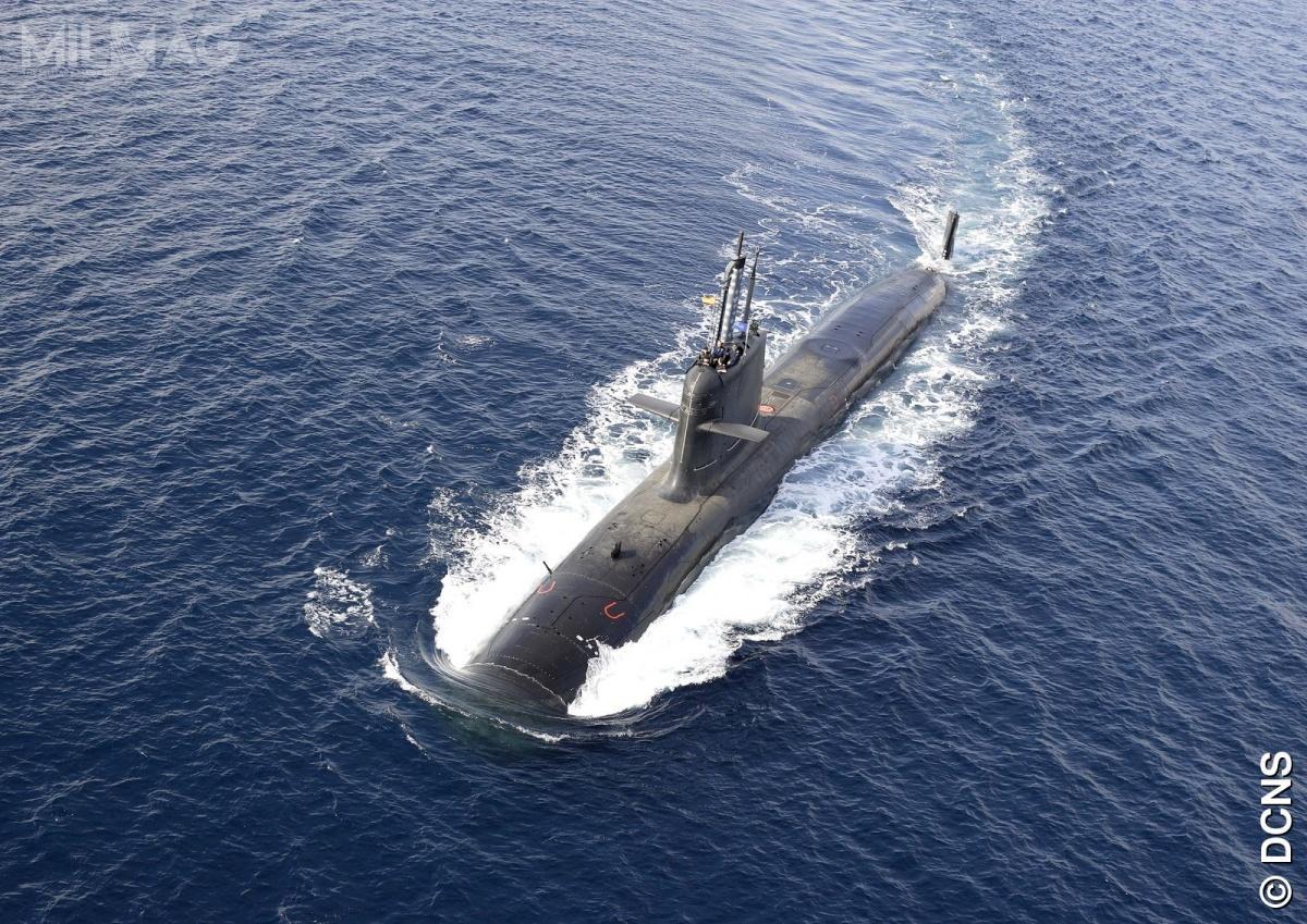 Okręty podwodne typu Scorpène zostały opracowane przezfrancuski DCN ihiszpańską Navantię, aobecnie produkowane są przezkoncern Naval Group oraznalicencji wIndiach iBrazylii. Wśród użytkowników są m.in.Malezja iChile. Okręty tego typu są oferowane m.in.Polsce wramach programu Orka / Zdjęcie: Naval Group