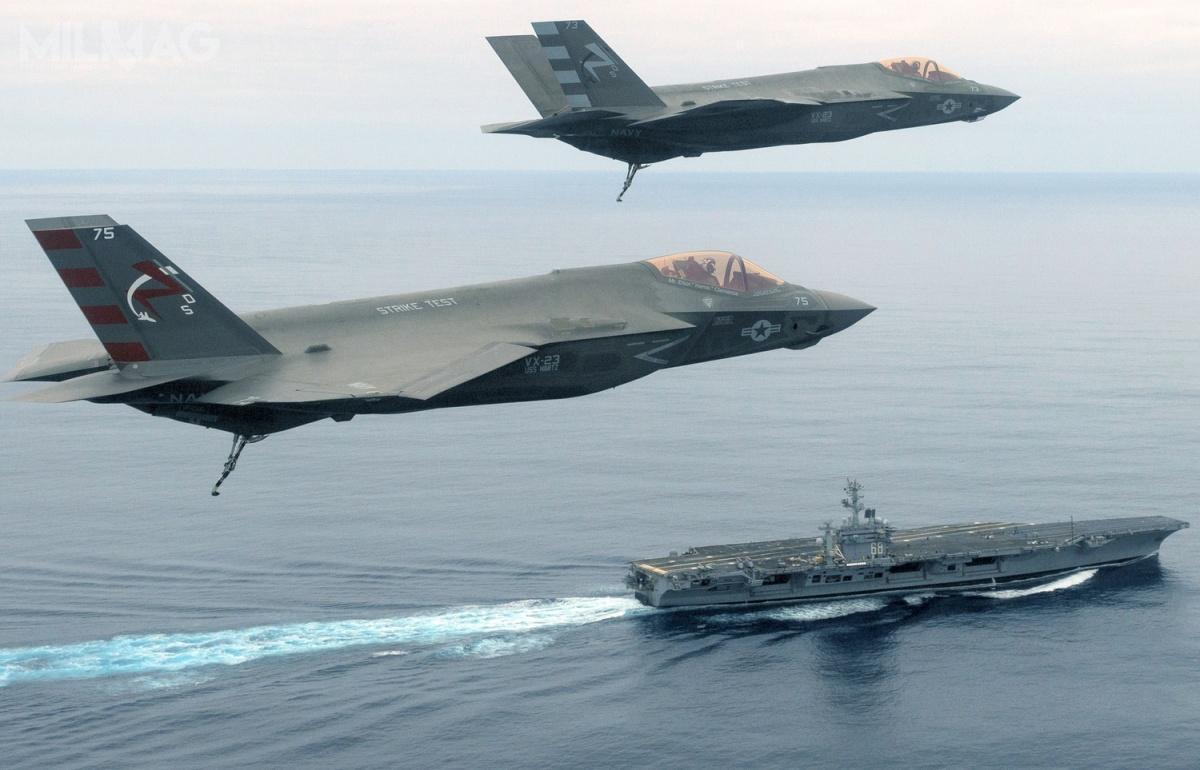 Lotniskowcem US Navy, naktórymjako pierwszym będą stacjonowały F-35C będzie USS Carl Vinson (CVN-70), typu Nimitz / Zdjęcia: US Navy