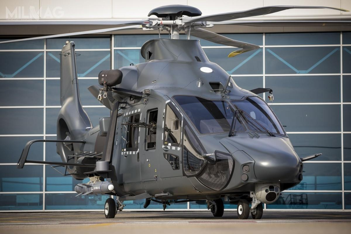 Planowane jest zamówienie pierwszych 30 lekkich śmigłowców wielozadaniowych Airbus Helicopters H160M Guépard, które będą trafiać dowszystkich rodzajów sił zbrojnych od2025 / Zdjęcie: Airbus Helicopters