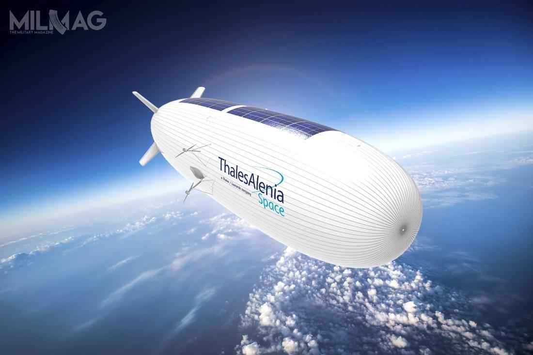 Koncepcja Stratobusa zakłada budowę bezzałogowego aerostatu oładowności do250 kg. Ma mieć zastosowania zarówno cywilne, jak iwojskowe. Wciągu czterech lat trwania fazy badawczo-rozwojowej zaprezentowano różne koncepcje sterowca