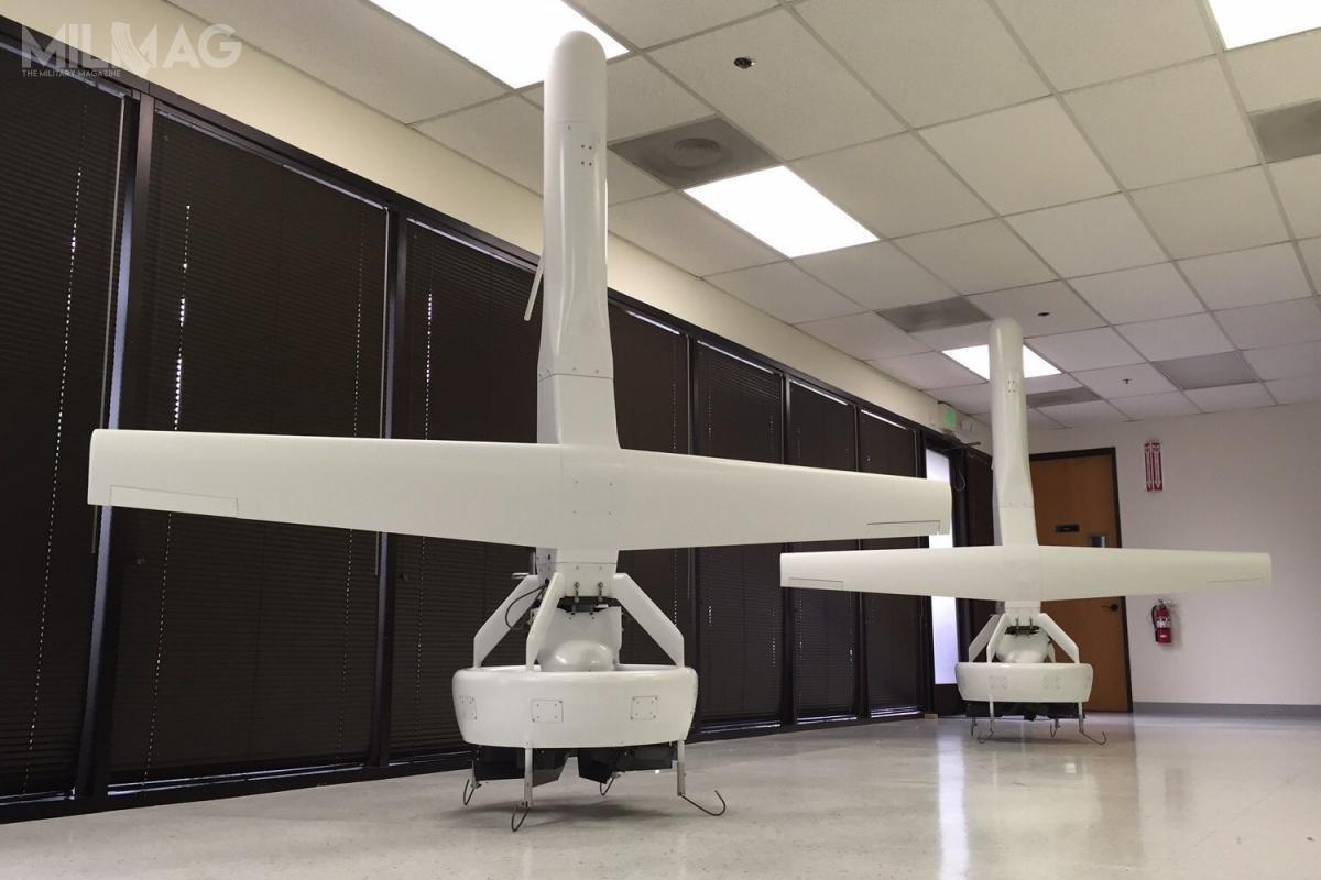Jednym zpretendentów dozastąpienia izraelskich bsl AAI RQ-7B Shadow jest V-Bat, oferowany przezspółkę Martin UAV. Jednym zwymogów US Army była konieczność operowania spoza klasycznych dróg startowych, dlatego wszyscy oferenci proponują bsl pionowego startu ilądowania / Zdjęcie: Martin UAV