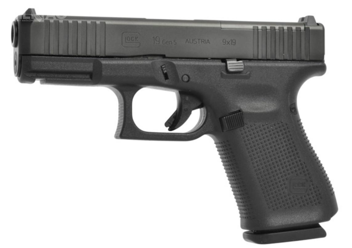 Amerykańska straż wybrzeża rozpoczęła wprowadzanie nowej broni krótkiej doarsenałów. Funkcjonariusze USCG dostaną 9-mm pistolety samopowtarzalne Glock 19 Gen5 MOS. / Zdjęcie: Glock