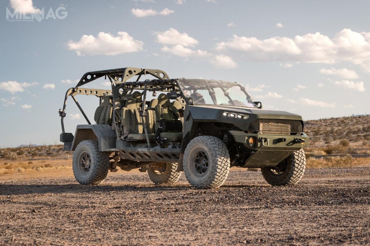 Na potrzeby programu ISV, spółka GM Defense opracowała podwozie woparciu ramę pickupa średniej ładowności typu Chevrolet Colorado ZR2/ZR2 Bison, dzięki czemu 90% części pochodzi zrynku cywilnego / Zdjęcie: GM Defense