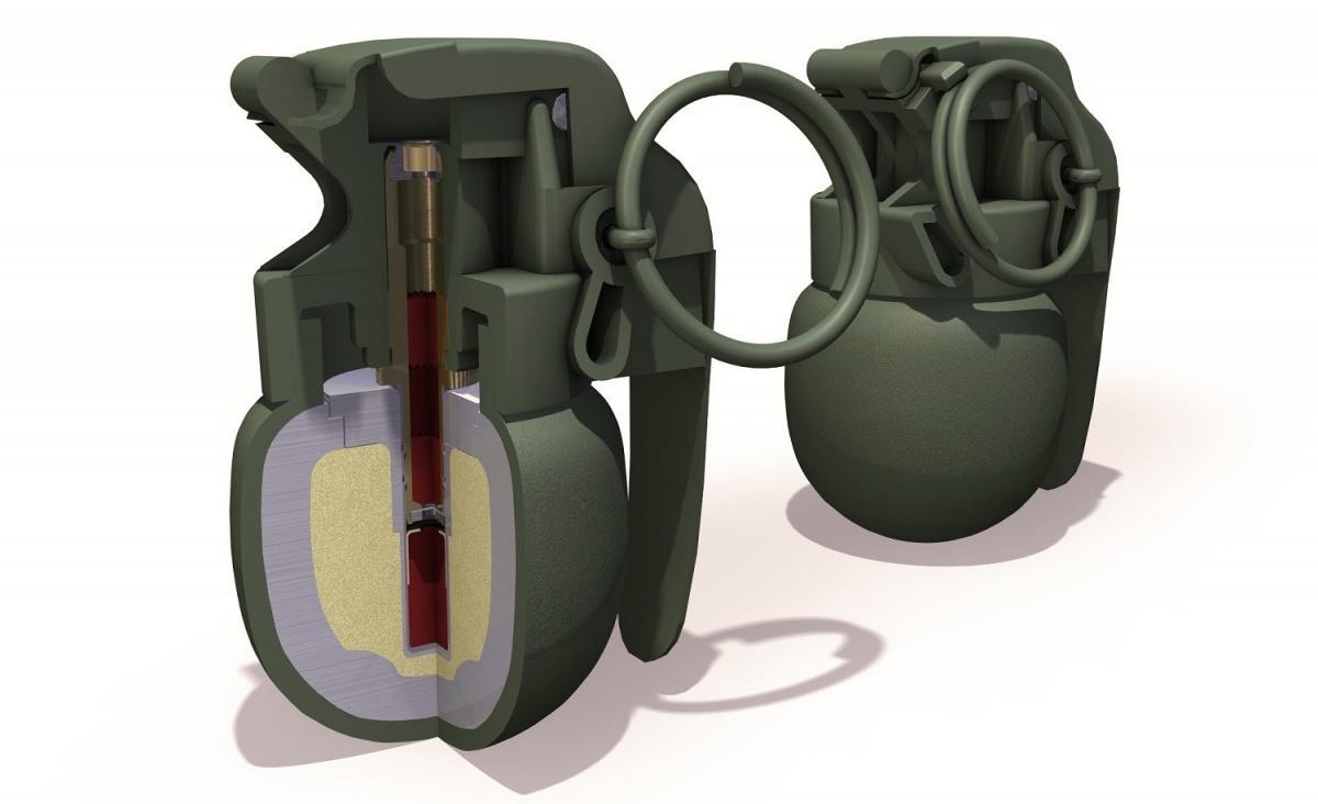 Granaty rodziny HGr 86 zewzględu naniewielką masę iwymiary używane są dowalk wterenie zurbanizowanym. Zaczepny OffHGr 86 zawiera 16 g materiału wybuchowego NSP 74, którydetonuje po3-5 sekundach. Granaty rodziny HGr 86 działają wtemperaturach od-46 do63 °C