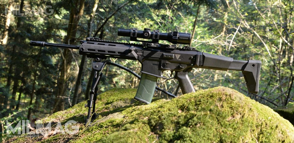 The exact Grot S16 FB-M1 tested my MILMAG. Firearm`s reliability is great – after over 1200 rounds we didn`t have a single malfunction. /Photo: Paweł Ścibiorek