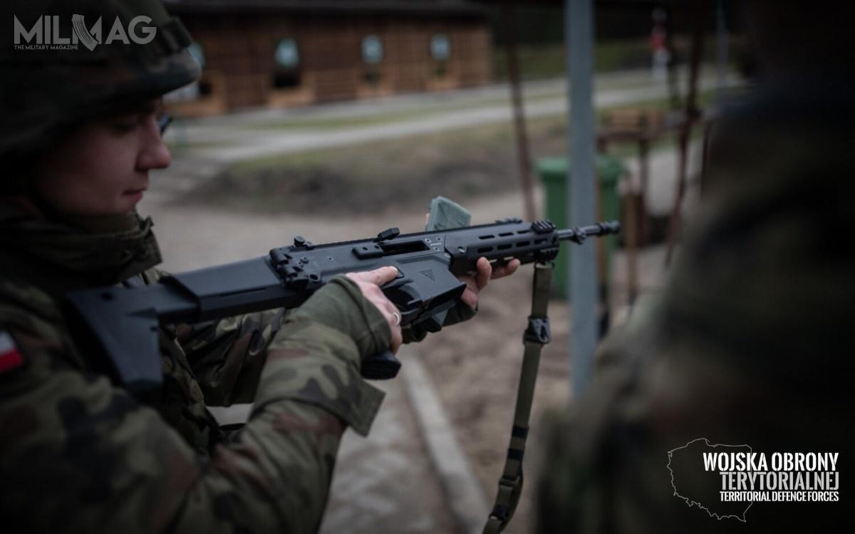 Pierwsze karabinki Grot C16 FB-M1 trafiły wręce żołnierzy Wojska Polskiego dokładnie dwa lata temu. Siły Zbrojne RP wykorzystują ponad 28 tys. karabinków produkowanych przezFabrykę Broni Łucznik-Radom / Zdjęcia: Wojska Obrony Terytorialnej