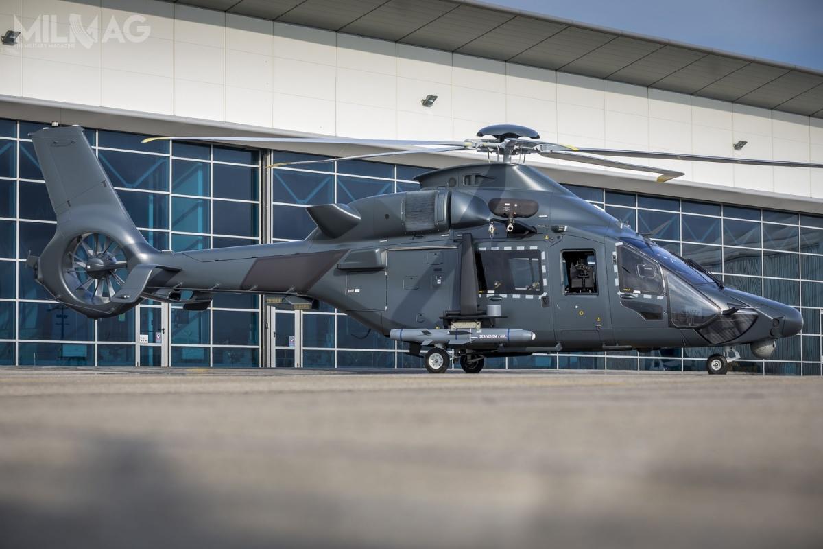 Zmilitaryzowany wariant śmigłowca H160 otrzymał oficjalną nazwę Guépard (pol. gepard). / Zdjęcia: Airbus Helicopters