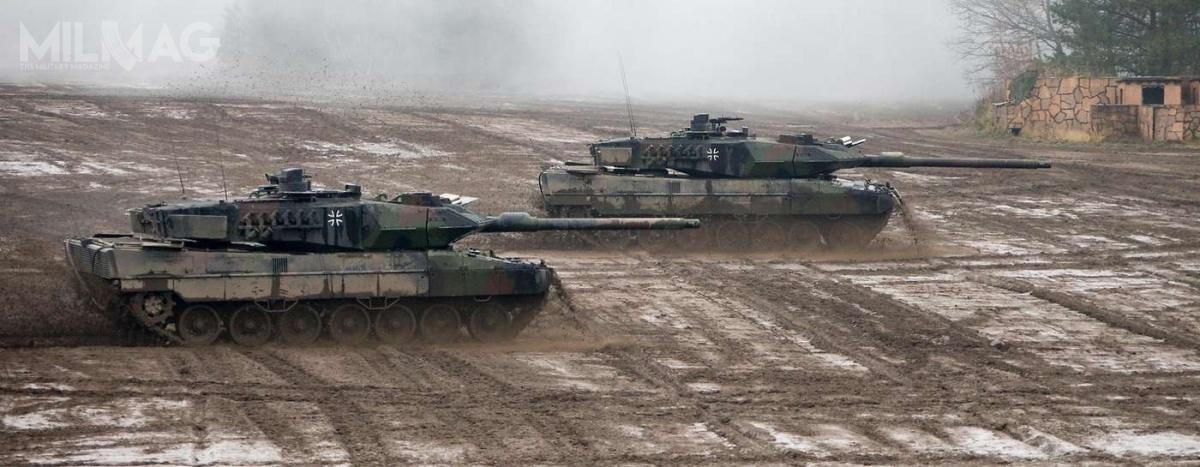 Sformowania szóstego batalionu pancernego będzie wymagać utworzenia infrastruktury koszarowej iszkoleniowej, atakże 500 etatów. Batalion otrzyma także znaczną część ze104 modernizowanych obecnie czołgów Leopard 2donowego standardu 2A7V. /Zdjęcie: Federalne Ministerstwo Obrony Niemiec