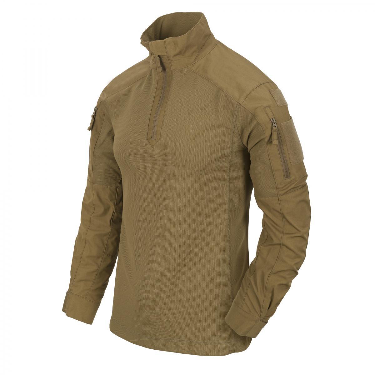 Bluzę MCDU stworzono zmyślą ofunkcjonariuszach wykorzystujących osłony balistyczne /Zdjęcie: Helikon-Tex