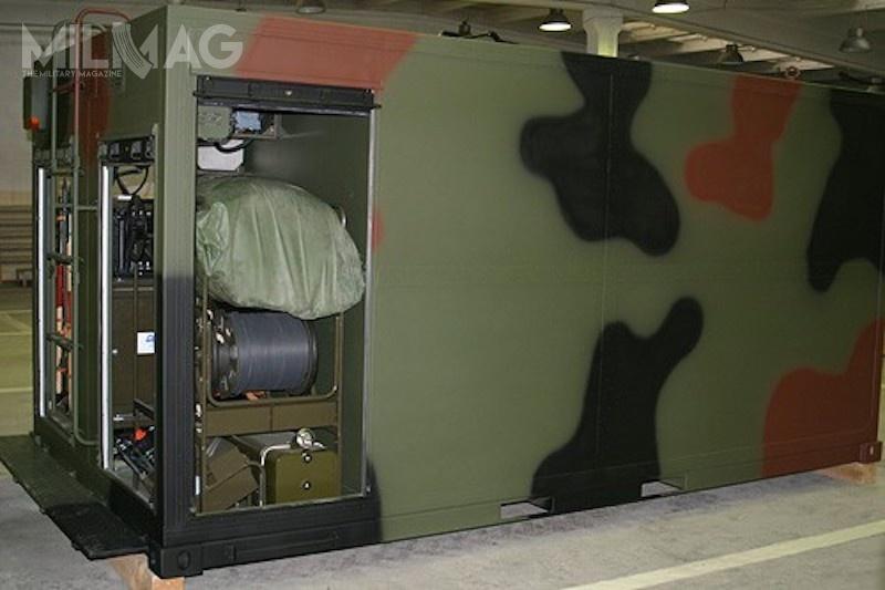 Trzynaście kontenerowych zestawów AOAS Hermes zostanie dostarczonych doSkładu Komorowo wOstrowi Mazowieckiej, podlegającego pod2. Regionalną Bazę Logistyczną wWarszawie / Zdjęcie: WZŁ nr2