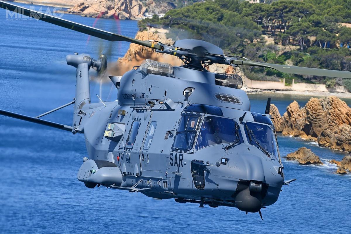 W produkcji NH90 ważny udział ma hiszpański przemysł: lokalne zakłady Airbus Helicopters zajmują się produkcją kadłuba orazrozwojem iintegracją oprogramowania awionicznego. Zkolei spółka Indra dostarcza symulatory misji poziomu D dla pilotów tych śmigłowców / Zdjęcie: Airbus Helicopters