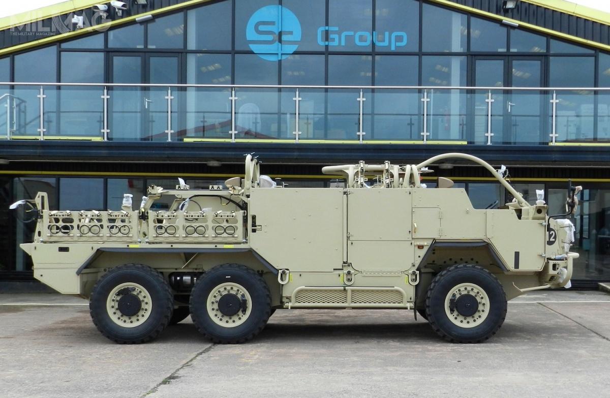 Pojazdy terenowe HMT Extenda MK2 będą przeznaczone dorealizacji zadań patrolowych wjednostce specjalnej norweskich sił zbrojnych FSK / Zdjęcie: Supacat