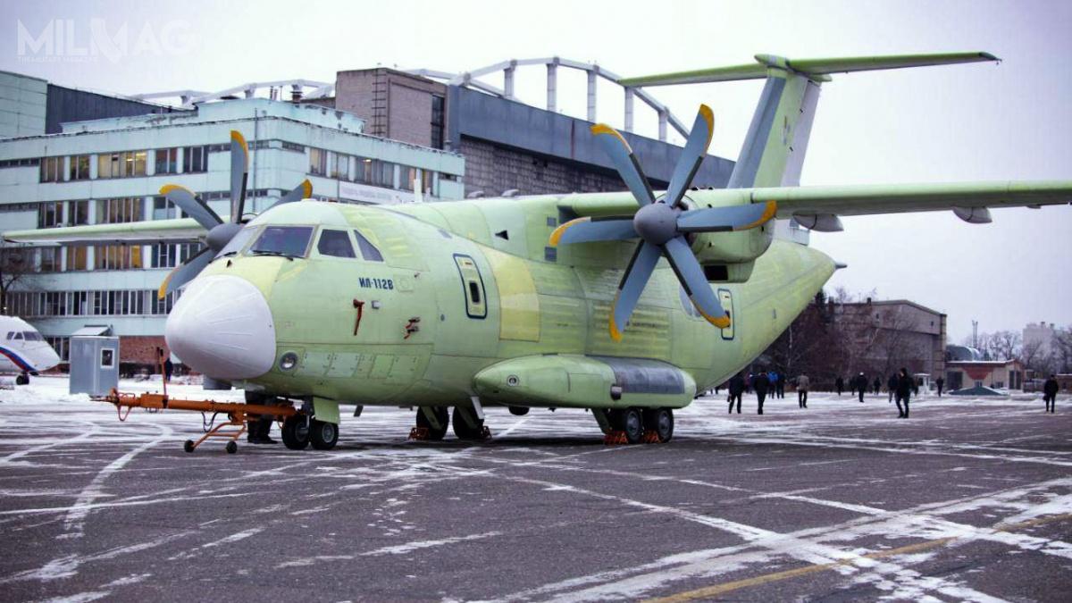 Łączne zapotrzebowanie rosyjskich wojsk lotniczych nanowe samoloty transportowe, które zastąpią modele An-24 iAn-26 wynosi 62 egzemplarze. /Zdjęcie: OAK