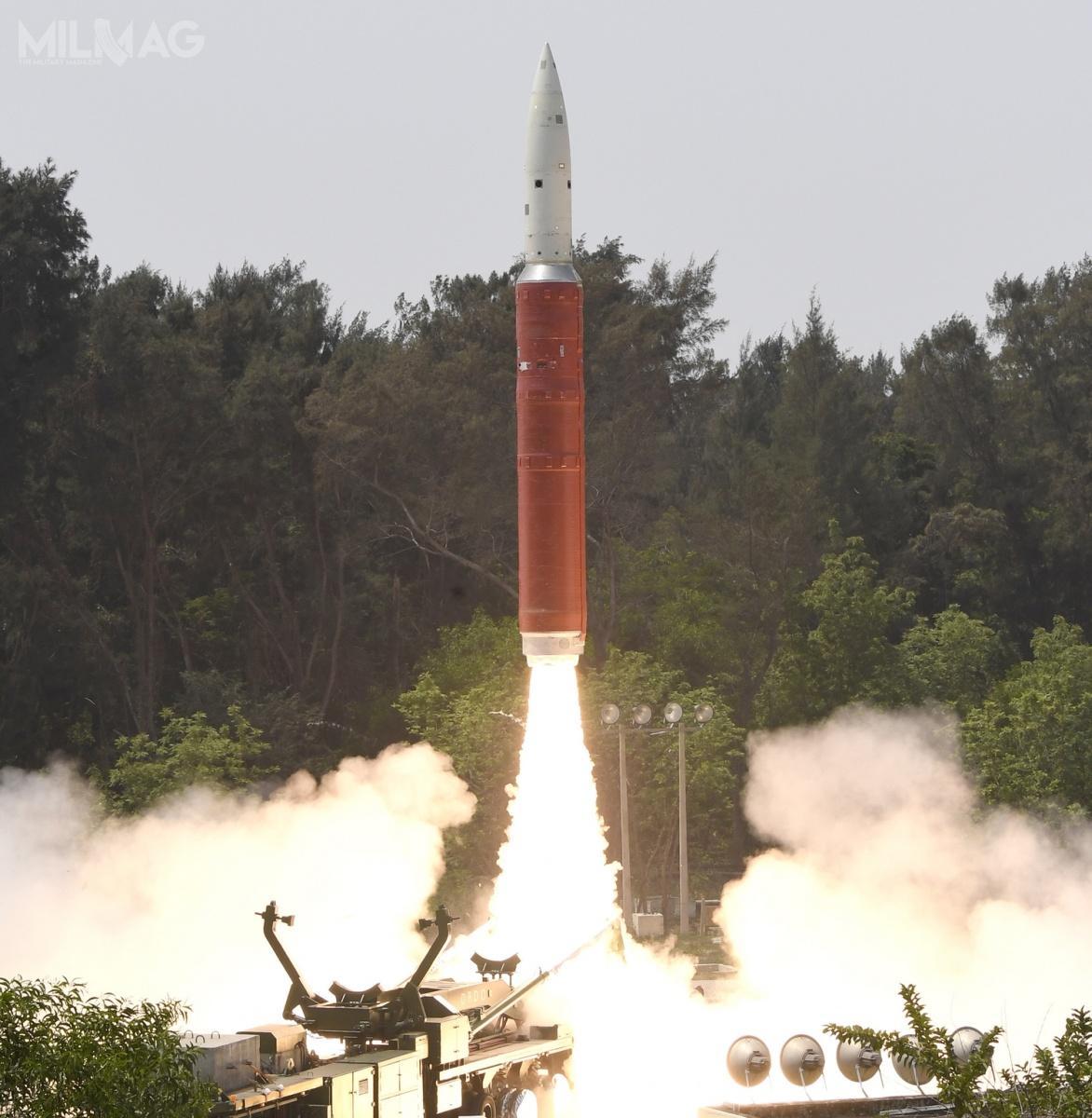 Antysatelitarny A-SAT ma być rozwinięciem pocisku przeciwrakietowego Prithvi Defence Vehicle / Zdjęcie: DRDO