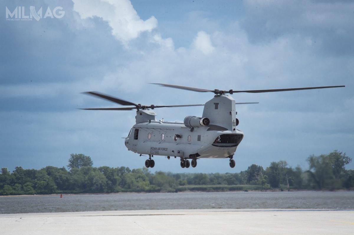 Do wojsk lotniczych trafi także 15 ciężkich śmigłowców transportowych CH-47F(I) Chinook wwariancie dostosowanym dopotrzeb odbiorcy / Zdjęcia: Boeing