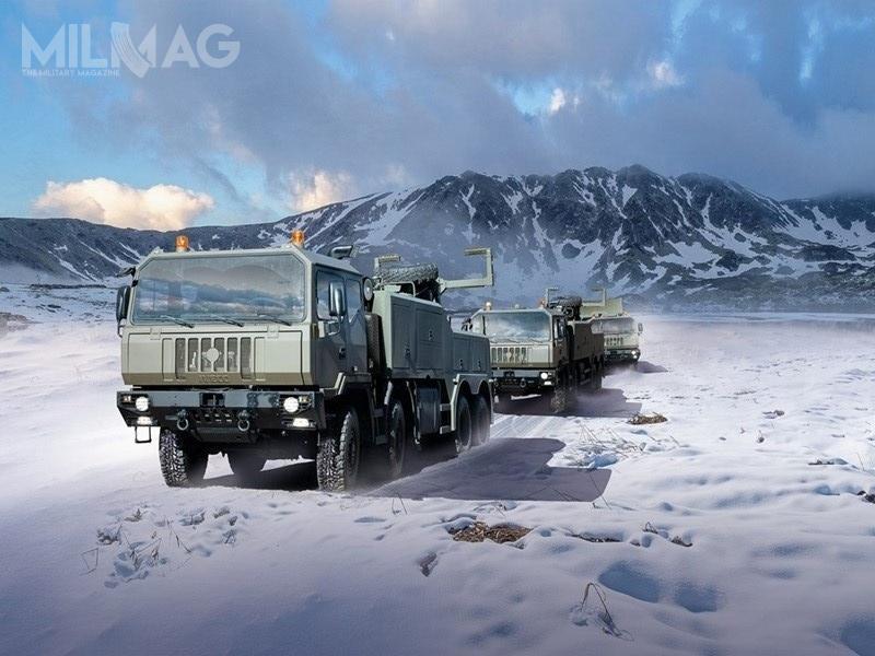 Dzięki nowemu porozumieniu, po2024 rumuńskie siły zbrojne będą mieć nawyposażeniu 3132 samochody ciężarowe wysokiej mobilności Iveco Defence Vehicles. Łączne zapotrzebowanie rumuńskiej armii wynosi 13 tys. nowych samochodów / Grafika: Iveco Defence Vehicles