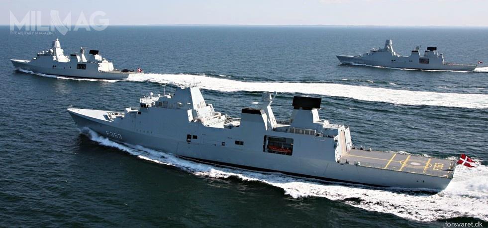 Królewska duńska marynarka wojenna operuje trzema fregatami rakietowymi typu Iver Huitfeldt, które weszły dosłużby wlatach 2012-2013. /Zdjęcie: Kongelige Danske Marine