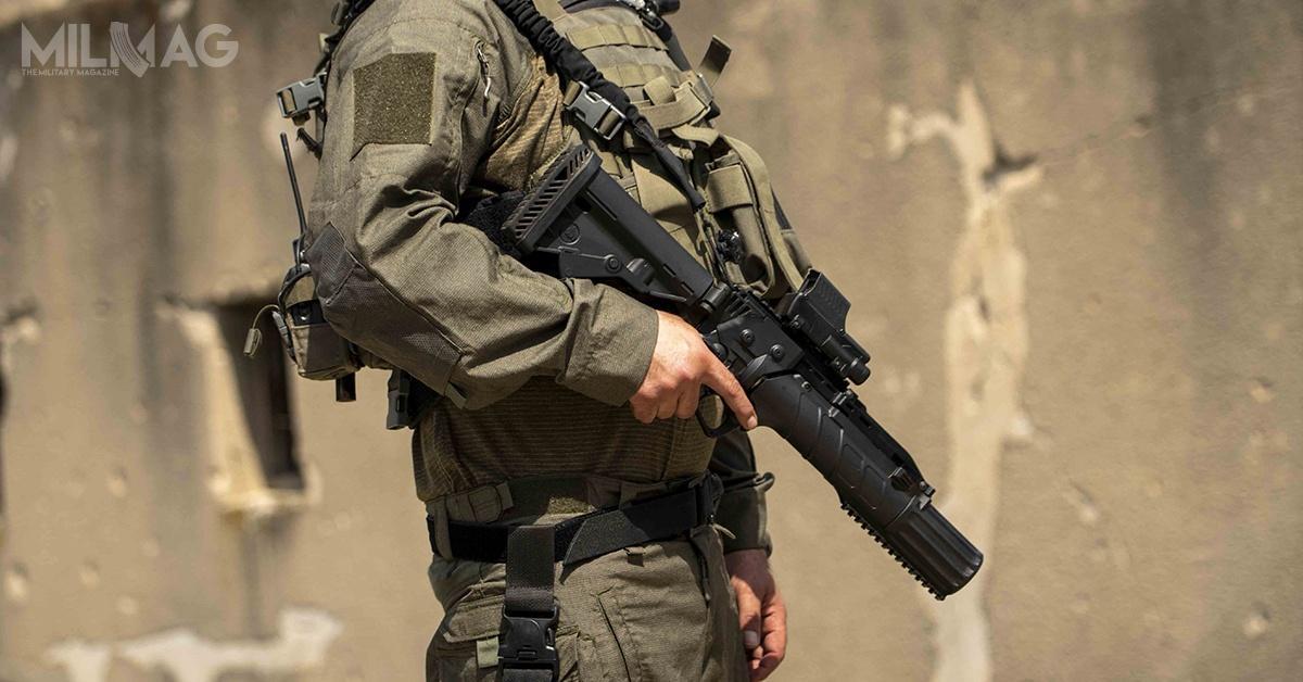 IWI oferuje także narzędzia ofensywne, takie jak samopowtarzalne strzelby gładkolufowe kal. 12 czygranatniki kal. 37, 38 i40 mm / Zdjęcia: IWI