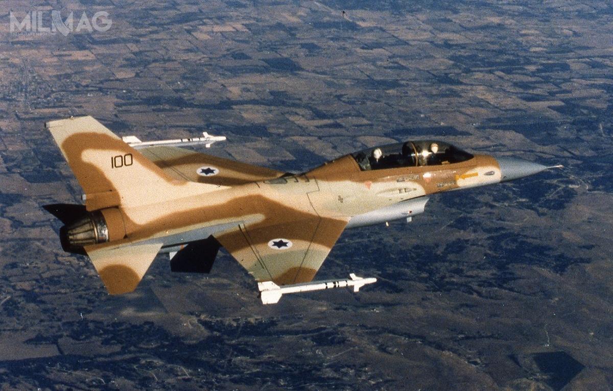 Izrael negocjuje sprzedaż 29 wycofanych zeksploatacji samolotów bojowych F-16A/B Netz kanadyjskiej spółce Top Aces, zajmującej się szkoleniem pilotów wojskowych / Zdjęcie: ministerstwo obrony Izraela