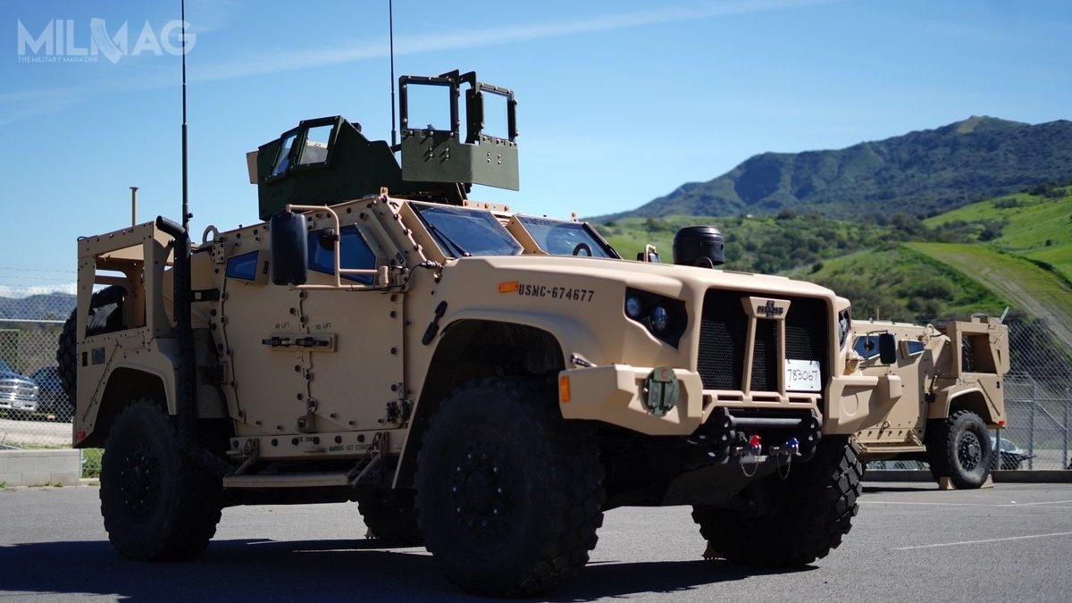 Ogłoszenie wstępnej gotowości bojowej wymagało pełnego przeszkolenia kierowców wzakresie obsługi orazzapewnienie pakietu wsparcia dokonserwacji iserwisowania zzestawami narzędzi iczęści zamiennych / Zdjęcie: USMC