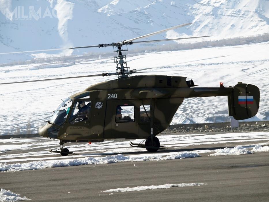 W połowie kwietnia 2018 Indie ostatecznie zatwierdziły konfigurację techniczną dla lekkich śmigłowców wielozadaniowych Ka-226T / Zdjęcie: Wiertalioty Rossii