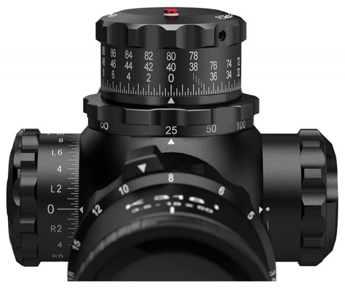 Nowe modele celowników optycznych Kahles K318i będą miały bębny korekcyjne dostosowane zarówno dostrzelców prawo-, jak ileworęcznych /Zdjęcia: Kahles
