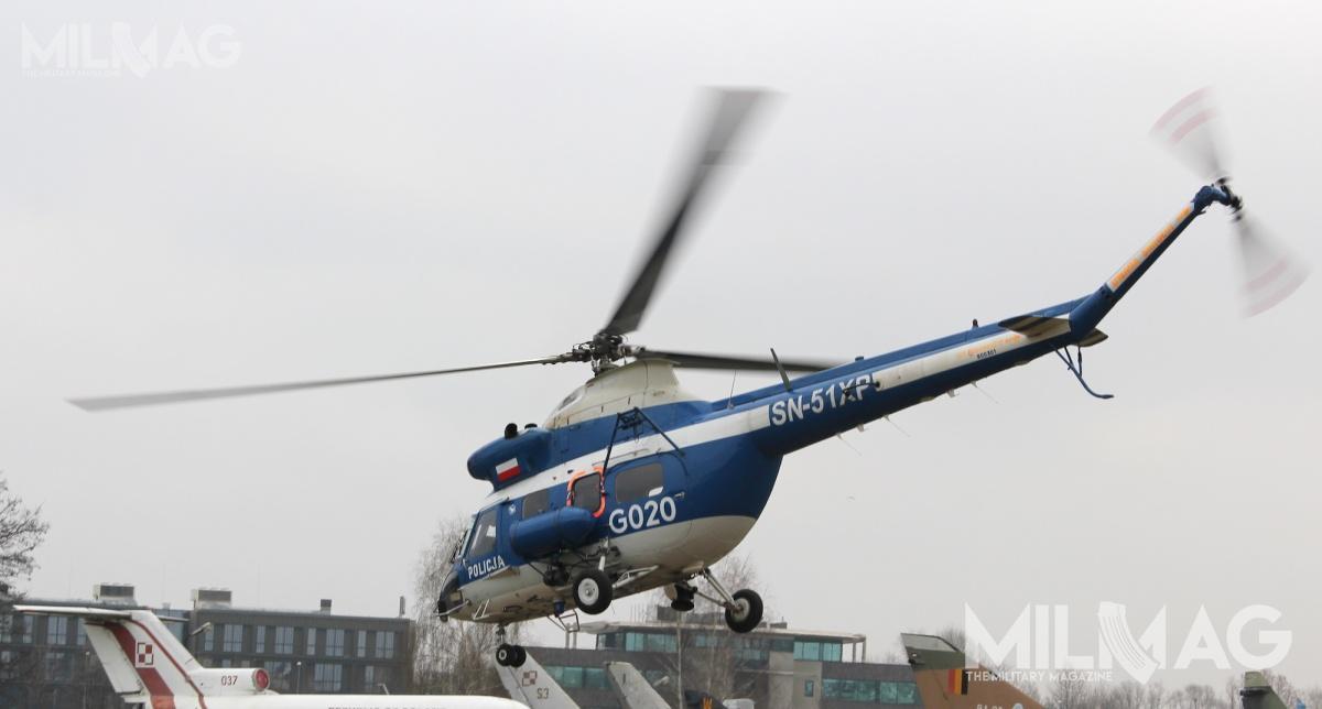 Nowe śmigłowce zastąpią trzy PZL Kania, używane przezSekcje Lotnictwa Komend Wojewódzkich Policji wPoznaniu, Szczecinie iWrocławiu / Zdjęcie: Jakub Link-Lenczowski