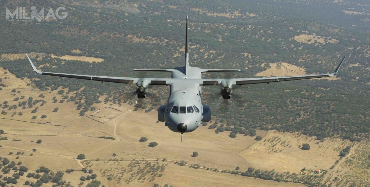 Kazachstan zamówił osiem C295M dla wojsk lotniczych w2012. C295 wwersji transportowej będzie pierwszym samolotem tego typu dla Służby Granicznej / Zdjęcie: Airbus Defence and Space