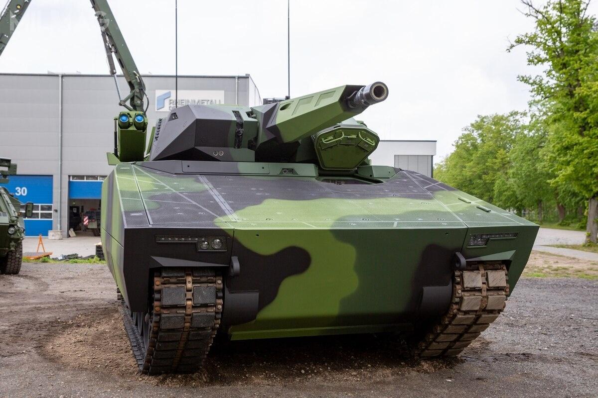 KF41 Lynx został zaoferowany dotąd Australii wramach programu Mounted Close Combat Capability LAND 400 Phase 3, gdzie wpołowie września przeszedł dokolejnego etapu, atakże Czechom, gdzie postępowanie jest opóźnione / Zdjęcie: Rheinmetall Defence