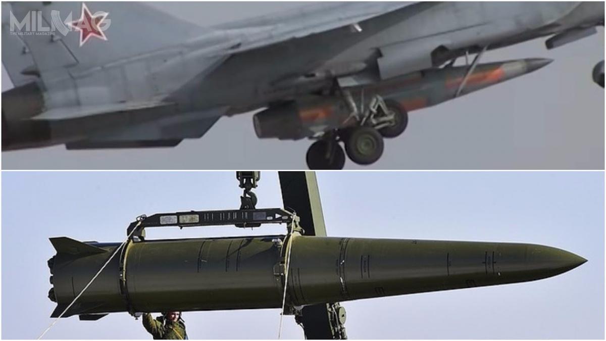 Porównanie pocisku Ch-47M2 Kindżał zlądowym pociskiem balistycznym krótkiego zasięgu 9K720 Iskander-M.