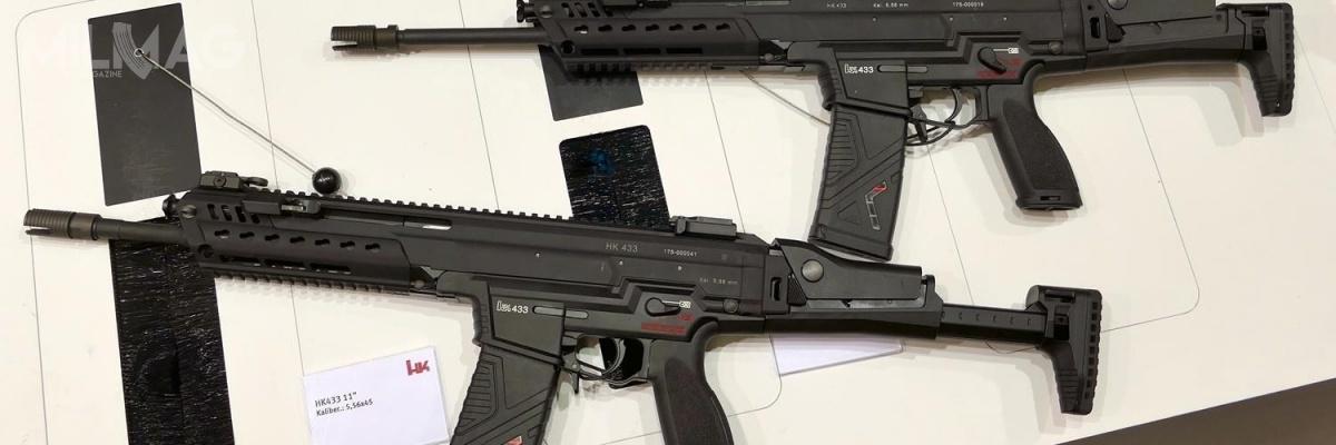 Według uzyskanych przezMilitarny Magazyn MILMAG informacji, wpostępowaniu SSB bierze udział jedynie dwóch rywali: H&K zkarabinkiem HK433 iC.G. Haenel zMK556 Gen 2/ Zdjęcie: Remigiusz Wilk