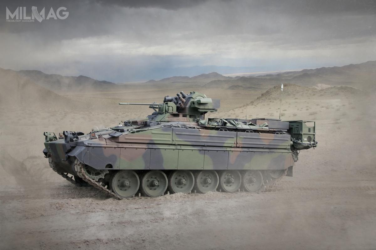 Zamówienie jest kolejnym etapem modernizacji niemieckich bojowych wozów piechoty SPz Marder, podwóch wcześniej zawartych porozumieniach wtym roku Zdjęcia: Rheinmetall