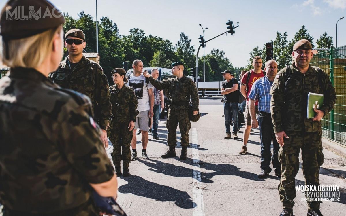 Kwalifikacje dozawodowej służby wojskowej wWojskach Obrony Terytorialnej odbyły się 18 czerwca wkoszarach 1. PBOT wBiałymstoku orazwSuwałkach