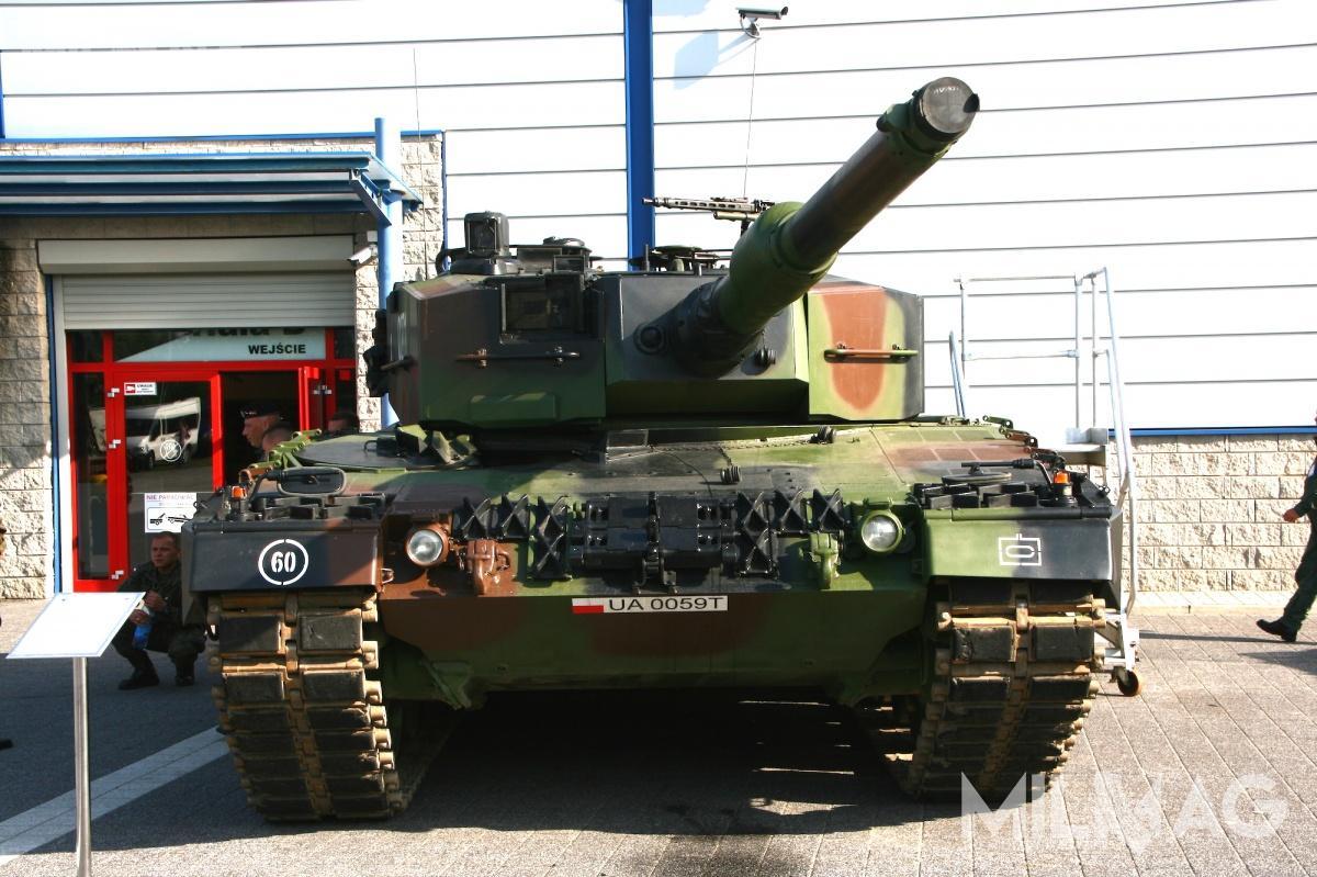 Modernizacja polskich Leopardów 2A4 obejmie wymianę napędów wieży, przyrządów elektrooptycznych, systemów kontroli ognia iprzeciwpożarowych. Opancerzenie wieży zostanie wzmocnione dopoziomu przewyższającego Leoparda 2A5 / Zdjęcie: Jakub Link-Lenczowski