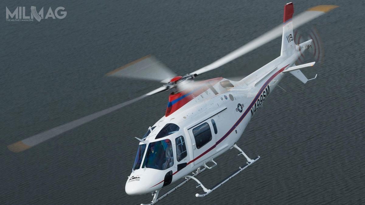 Prototyp TH-119 otrzymał certyfikację Federalnej Administracji Lotnictwa FAA (Federal Aviation Administration) wlipcu 2018. Śmigłowiec jest napędzany silnikiem turbowałowym Pratt & Whitney PT6B37A  omocy 1000 KM (746 kW). / Zdjęcie: Leonardo