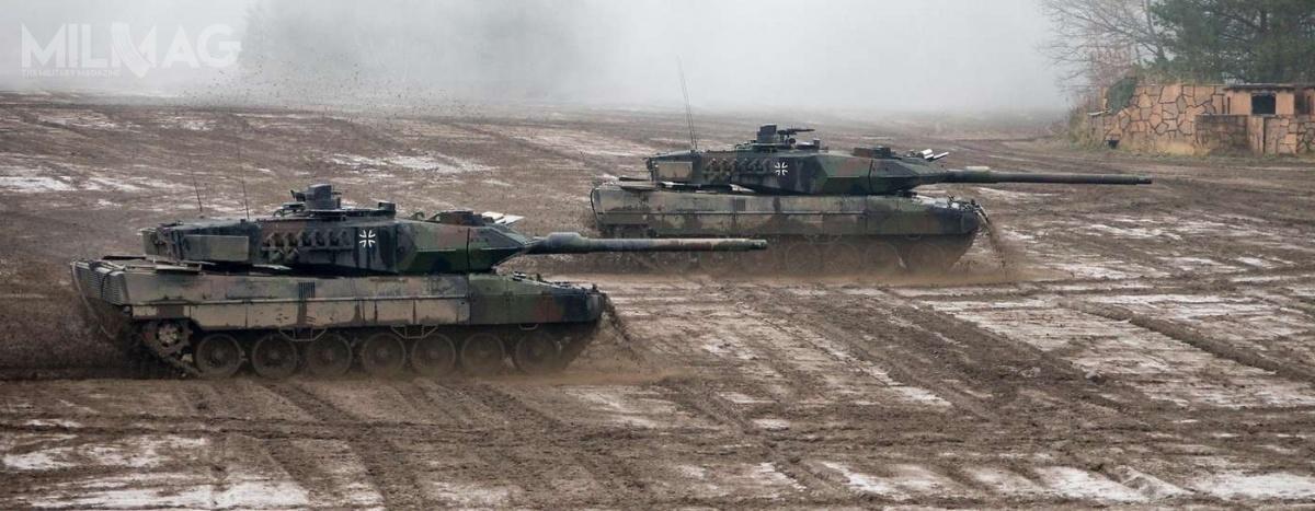 Ostateczna wersja budżetu federalnego zostanie uchwalona wwpołowie listopada ijeśli wniosek zostanie przyjęty, wdrugiej połowie lat 2020. niemieckie siły pancerne będą liczyć łącznie 408 czołgów Leopard 2/ Zdjęcie: Bundeswehra