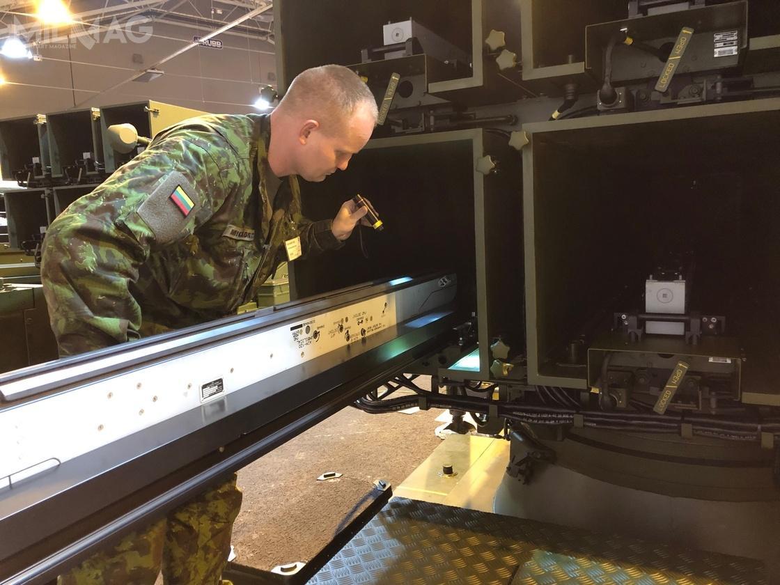 Litewscy specjaliści przeprowadzają próby odbiorcze zamówionych systemów wzakładach Kongsberg / Zdjęcia: Ministerstwo Obrony Litwy